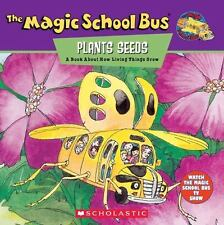 The Magic School Bus Plants Seeds: A Book About How Living Things Grow - Good -
