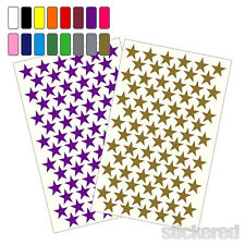144 X 20MM SELF ADHESIVE VINYL STARS PEEL & STICK STICKERS FOR CRAFTS CRAFTING