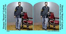 Boston Corbett John Wilkes Booth Civil War SV Stereoview Stereocard 3D 03241