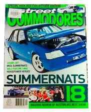 STREET COMMODORES # 98 -  HOLDEN - HDT  - VK  - SS BROCK  - VT  - VY  - VR