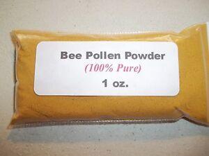 1 oz. Bee Pollen Powder (100% Pure)