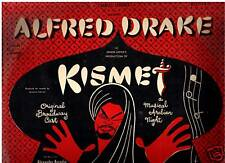 Kismet - 1953-Alfred Drake - Original Cast-Recoed LP