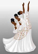 Praise Dancer Figurine: Giving Praise African American NEW (17715)
