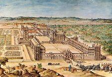 Alte Kunstpostkarte - Chateau de Vincennes - Aquarelle
