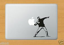 BANKSY JETANT Drôle Etiquette Autocollant Vinyle pour Apple Macbook Pro Air Mac