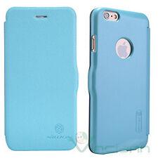 Custodia Fresh Series originale Nillkin per iPhone 6 6S cover FLIP case azzurra