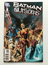 BATMAN AND THE OUTSIDERS #1, DC (2007) 1st Ptg VF