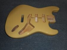 NEW Fender Strat Body, Alder, Tremolo Routing - See-Through Blonde, #SBF-BLND