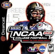 NCAA COLLEGE FOOTBALL 2K2 ROAD TO THE ROSE BOWL SEGA DREAMCAST *NEW* AUS EXPRESS