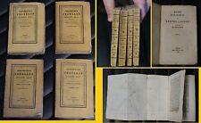Biblioteca Popolare seconda serie - 4 volumetti - 1830 - con all'interno tavole