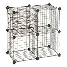 Safco Wire Cube Shelving System - 5279BL
