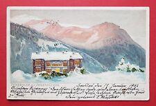 Litho AK Riesengebirge 1902 Peterbaude mit Ziegenrücken    ( 32815