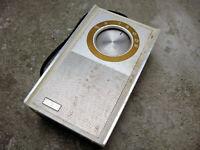 Vintage RCA Transistor Radio RZ6121T AM Ebony Teak Parts Repair