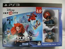 Disney Infinity 2.0 Edition PS3 ~ Toy Box Starter Pack ~NEW