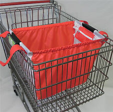 Trolly Shopping Bag, Reusable, Eco Friendly, Universal Cart Clip, Foldable