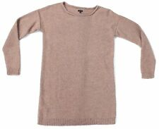 Joseph Womens Brown/Nude Long Jumper Size Large