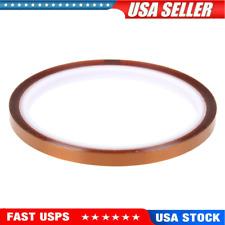 1 Roll Single Conductive Copper Foil Adhesive Tape High Temperature Tape