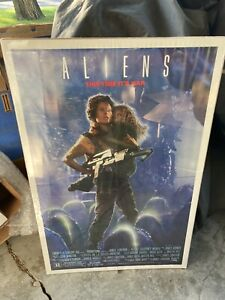 Aliens This Time Its War Orig. 27x41 Vintage Poster.
