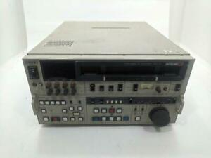 Sony BVW-75 BETACAM SP Digital Video Cassette Studio Editing Player Recorder