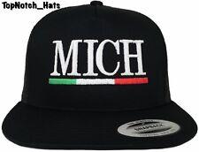 Michoacan MICH Black Trucker Hat Brand New Ships Now !!!