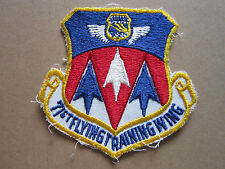 71st Flying Training Wing USAF Woven Cloth Patch Badge
