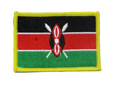 Kenya Country Flag Wholesale lot of 6 Iron On Patch