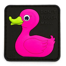 PATCH JTG 3D GOMME DUCK CANARD ROSE ARMEE PAINTBALL AIRSOFT MILITAIRE INSIGNE