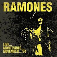 RAMONES - LIVE...MONTEVIDEO...NOVEMBER 94   CD NEU