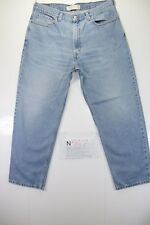 Levis 550 relaxed fit (Cod. N547) tg52 W38 L30 jeans usato vintage