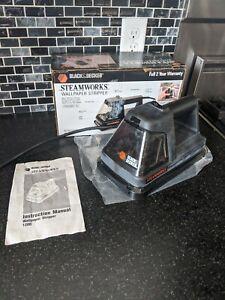 Black & Decker Steamworks Wallpaper Steamer Stripper,  With Manual, EUC