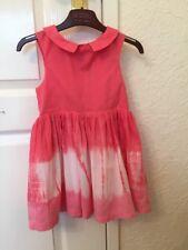 Las Niñas Vestido De Algodón Rosa sweet Millie 2 años de edad. Forrado