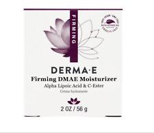 NEW DERMA E FIRMNG DMAE MOISTURIZER ALPHA LIPOIC C-ESTER SKIN CARE HEALTH VEGAN