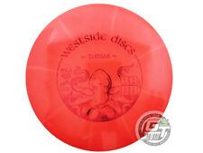 New Westside Discs Tournament Burst Tursas 174g Red Midrange Golf Disc