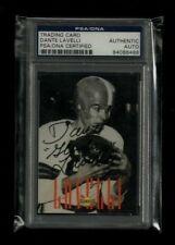 Dante Lavelli 1992 Sonoco WMMS HALL OF FAME Auto PSA/DNA Cleveland Browns LEGEND