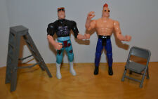 """WWE WRESTLING KO ACTION FIGURE LOT OF 2 6"""" WITH ACCESSORIES"""
