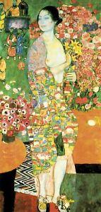 Gustav Klimt - The Dancer - 100X50CM Large Canvas Art Print Poster Unframed