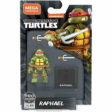 """Mega Construx - TEENAGE MUTANT NINJA TURTLES - 2"""" Raphael Action Figure GNV38"""