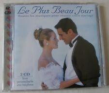 LE PLUS BEAU JOUR (2CD) TOUTES LES MUSIQUES POUR REUSSIR VOTRE MARIAGE