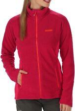 Regatta Tafton Honeycomb Womens Fleece Jacket Red Packable Mid-Layer 14 16