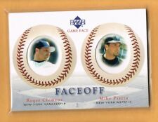 2003 UD Game Face Roger Clemens & Mike Piazza #190
