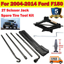 For 2004 2014 Ford F150 Lug Wrench Set 2t Scissor Jack Spare Tire Tool Kit Us Fits Ford