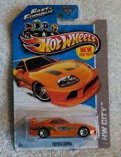 Hot Wheels 2013 New Models Toyota Supra Fast and Furious in package.