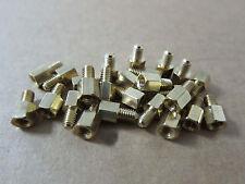 5mm 50mm Brass Copper Standoff Spacer M4 Male To M4 Female Screws Bolts