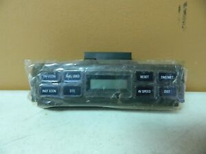 New OEM 1989 & Up Ford Fuel Gauge Display Economy Module Computer Assembly