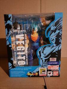 SH Figuarts Vegito Blue NYCC SDCC Event Exclusive Dragon Ball Z Super Saiyan God