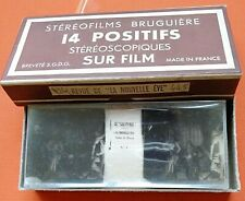 REVUE DE LA NOUVLLE EVE - Le Gai Paris - stéréofilms Bruguière 12 positifs n°734