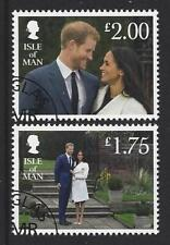 Isle Of Man 2018 Harry Meghan Verlobung Gestempelt