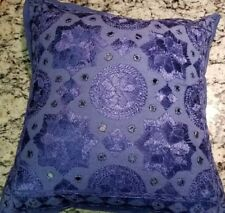 Blue Morrocan Pillow Cover