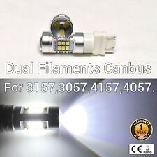 T25 3155 3157 3457 4157 SRCK 21 SMD LED White Rear Signal M1 For Dodge AR