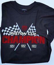 New Disney World Store Men T Shirt Piston Cup Champion Cars Dirt Track Black 3XL